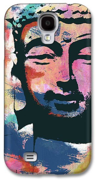 Colorful Buddha 2- Art By Linda Woods Galaxy S4 Case