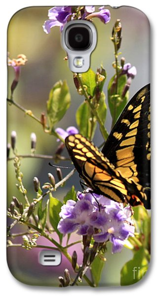 Gardens Photographs Galaxy S4 Cases - Colorful Butterfly Galaxy S4 Case by Carol Groenen