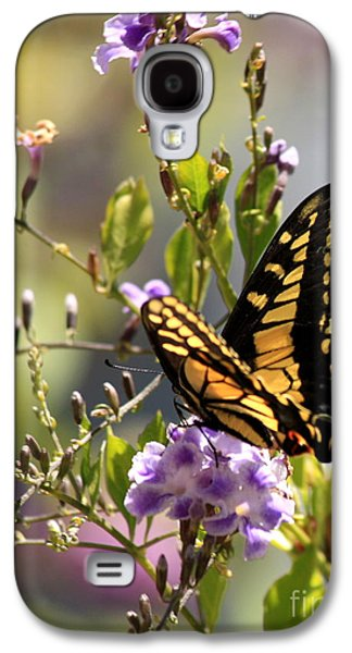 Colorful Butterfly Galaxy S4 Case by Carol Groenen