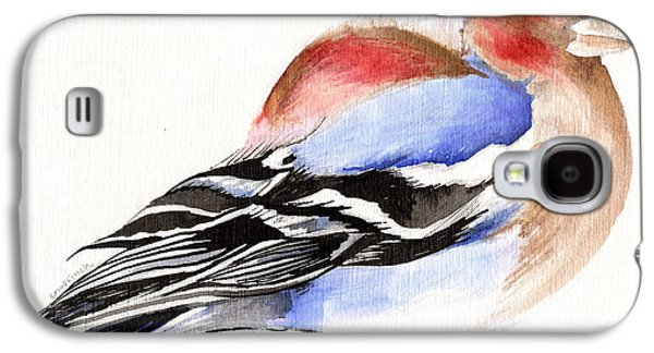 Colorful Chaffinch Galaxy S4 Case by Nancy Moniz