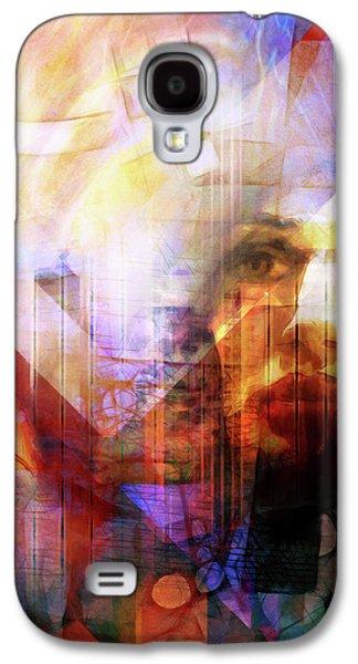 Colorful Drama Vision Galaxy S4 Case by Lutz Baar