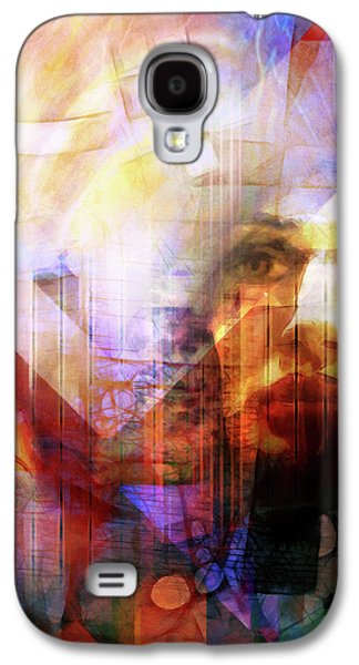 Colorful Drama Vision Galaxy S4 Case by Lutz Baar