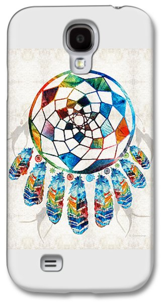 Colorful Dream Catcher By Sharon Cummings Galaxy S4 Case