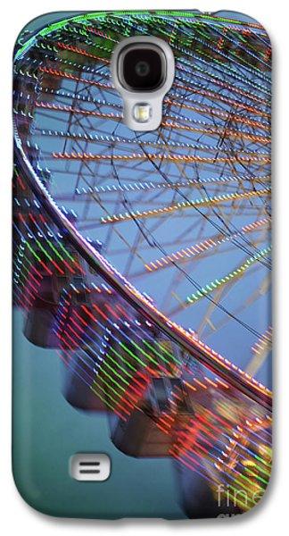 Colorful Ferris Wheel Galaxy S4 Case by Carlos Caetano