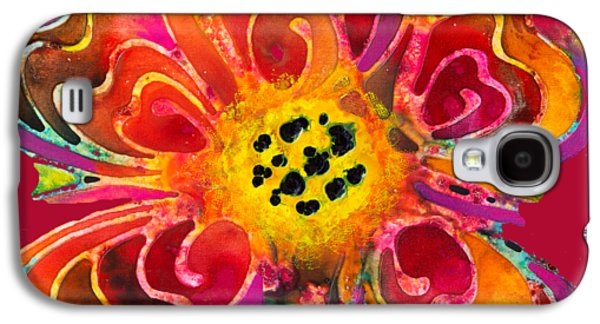 Colorful Flower Art - Summer Love By Sharon Cummings Galaxy S4 Case