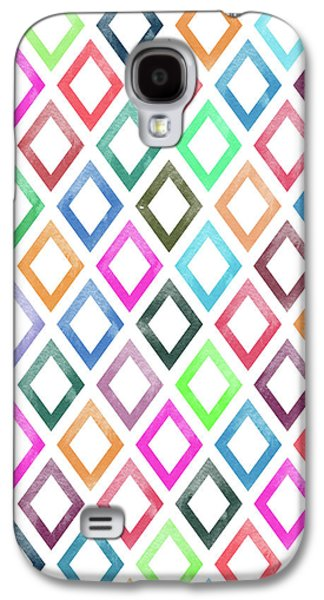 Colorful Geometric Patterns  Galaxy S4 Case by Amir Faysal