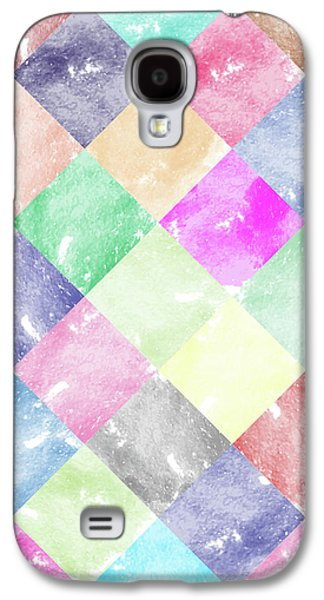Colorful Geometric Patterns IIi Galaxy S4 Case