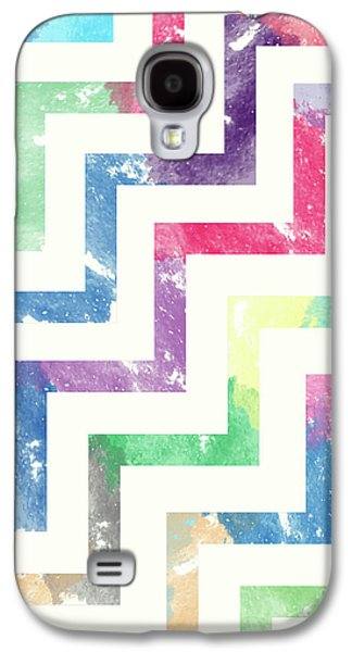 Colorful Geometric Patterns Vi Galaxy S4 Case by Amir Faysal
