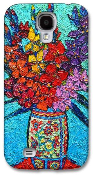 Colorful Gladiolus Galaxy S4 Case