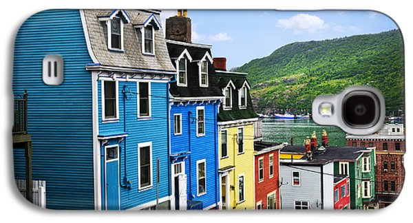 Colorful Houses In St. John's Galaxy S4 Case by Elena Elisseeva