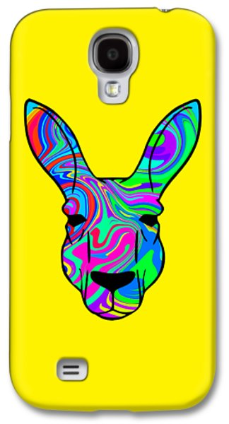 Colorful Kangaroo Galaxy S4 Case by Chris Butler