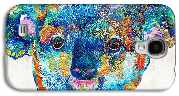 Colorful Koala Bear Art By Sharon Cummings Galaxy S4 Case by Sharon Cummings