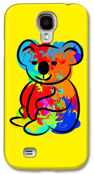 Colorful Koala Galaxy S4 Case by Chris Butler