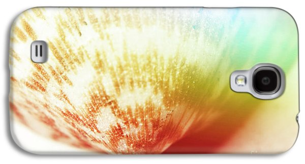 Colorful Light Flare Over Seashell Galaxy S4 Case by Jorgo Photography - Wall Art Gallery