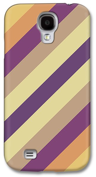 Colorful Lines Galaxy S4 Case by Amir Faysal