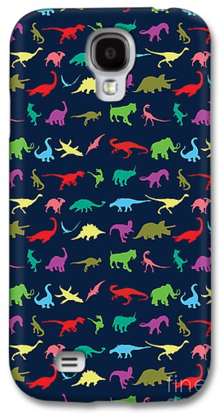 Colorful Mini Dinosaur Galaxy S4 Case