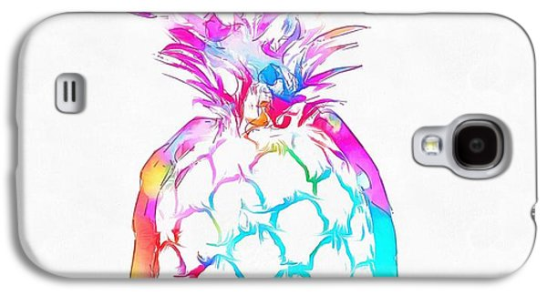 Colorful Pineapple Galaxy S4 Case by Dan Sproul