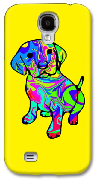 Colorful Puppy Galaxy S4 Case