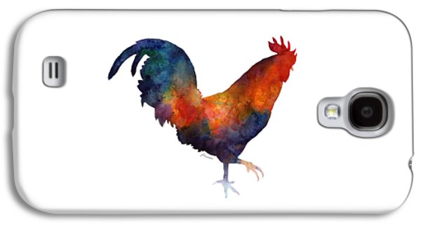 Colorful Rooster Galaxy S4 Case by Hailey E Herrera