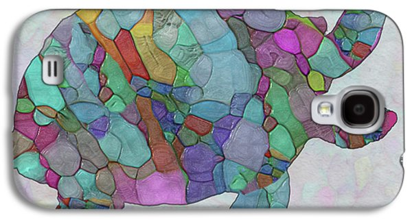 Colorful Sea Turtle Galaxy S4 Case by Jack Zulli