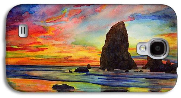 Beach Landscape Galaxy S4 Case - Colorful Solitude by Hailey E Herrera