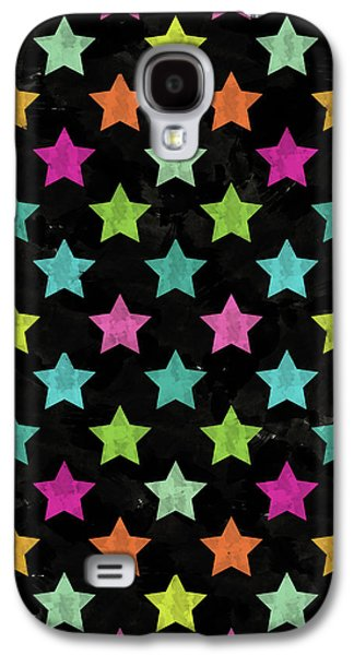 Colorful Star II Galaxy S4 Case by Amir Faysal