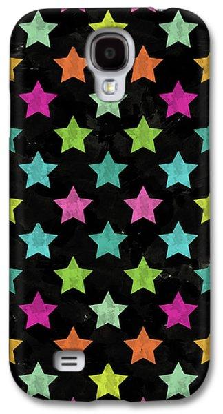 Colorful Star II Galaxy S4 Case by Amir Faysal