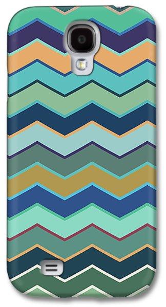 Colorful Wave II Galaxy S4 Case by Amir Faysal