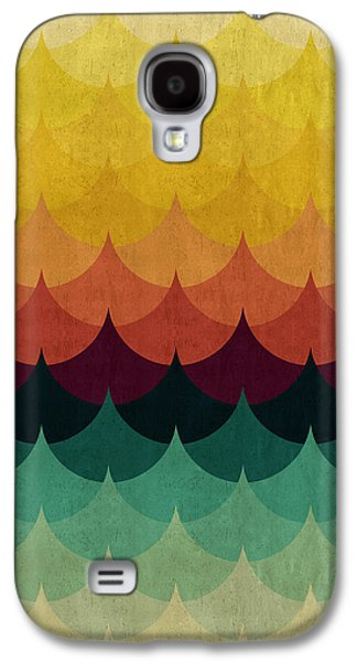 Colorful Waves Galaxy S4 Case
