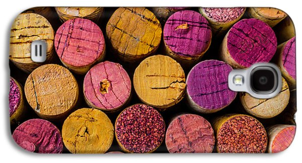 Colorful Wine Corks Galaxy S4 Case by Garry Gay