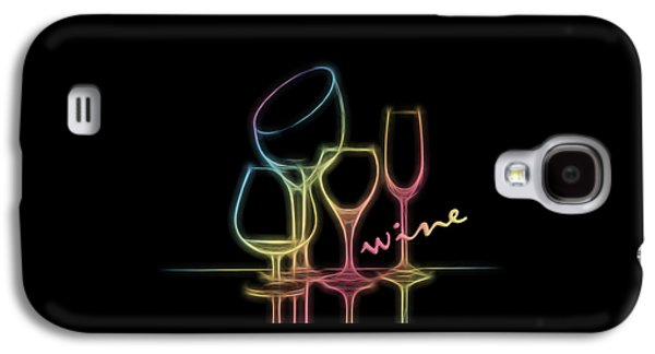 Colorful Wineglasses Galaxy S4 Case