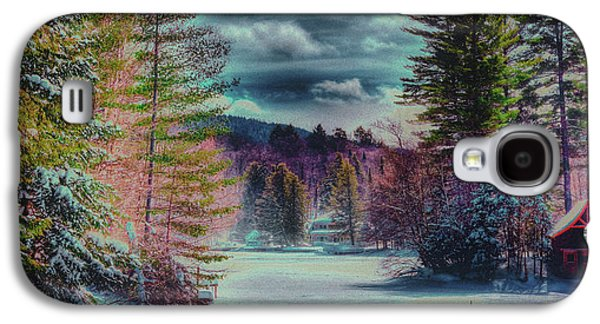 Galaxy S4 Case featuring the photograph Colorful Winter Wonderland by David Patterson