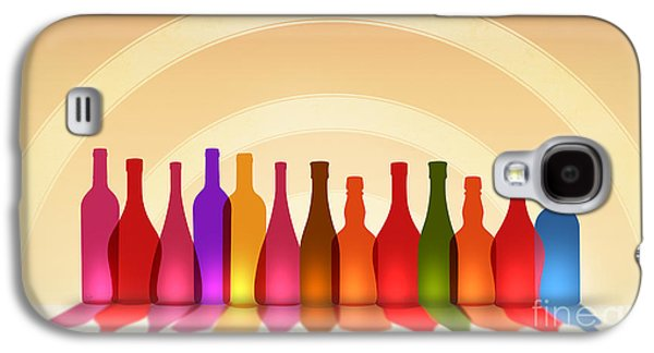 Colors Of Wine Galaxy S4 Case by Bedros Awak