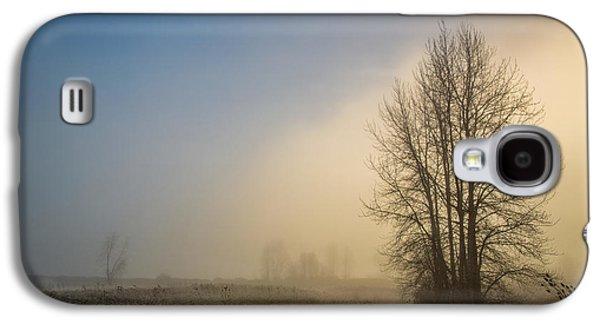 Colors Of Winter Sunrise Galaxy S4 Case