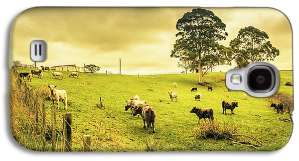 Colourful Australian Cattle Station Galaxy S4 Case by Jorgo Photography - Wall Art Gallery