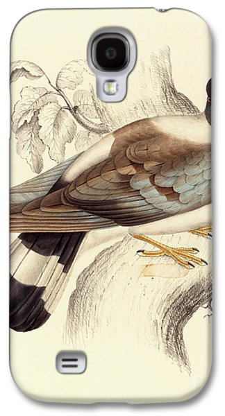 Columba Leuconota, Snow Pigeon Galaxy S4 Case by Elizabeth Gould