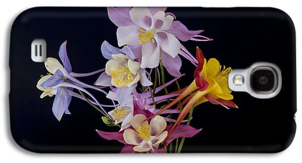 Galaxy S4 Case featuring the photograph Columbine Medley by Gary Lengyel