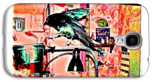 Crow Dance Galaxy S4 Case by YoMamaBird Rhonda