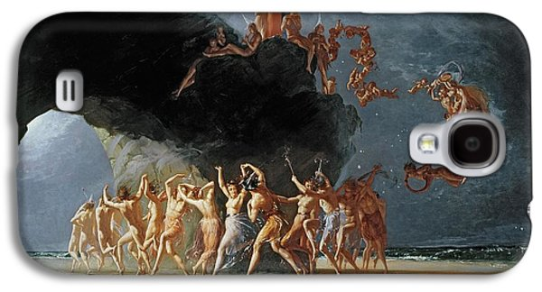Come Unto These Yellow Sands Galaxy S4 Case by Richard Dadd