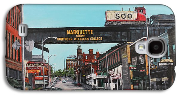 Marquette Galaxy S4 Case - Coming Home by Tim Lindquist