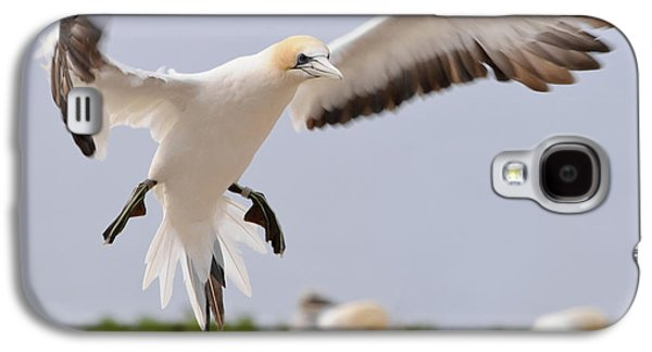 Coming In To Land Galaxy S4 Case by Werner Padarin