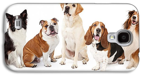 Common Family Dog Breeds Group Galaxy S4 Case