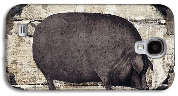Compagne II Pig Farm Galaxy S4 Case by Mindy Sommers
