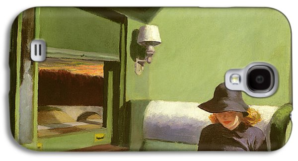 Compartment C Galaxy S4 Case by Edward Hopper