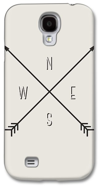 Compass Galaxy S4 Case by Taylan Apukovska