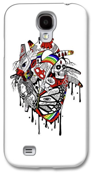 Complex Pride Heart Galaxy S4 Case