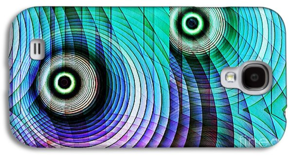 Concentric Rings 4 Galaxy S4 Case