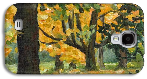 Concord Fall Trees Galaxy S4 Case by Claire Gagnon