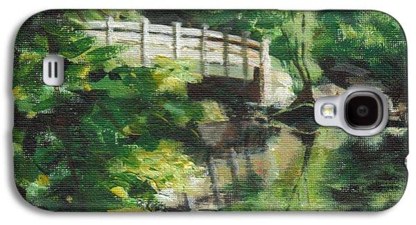 Concord River Bridge Galaxy S4 Case by Claire Gagnon
