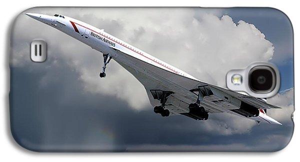 Concorde London Heathrow Galaxy S4 Case